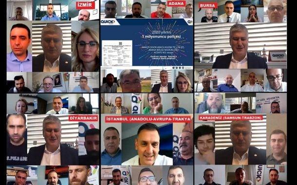 Hızlı Sigorta bölgesel çevrimiçi toplantılara devam ediyor
