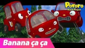 Banana Cha Cha Türkçe (Tu-tu ver.) | Çocuk Şarkıları | Pororo Küçük Penguen