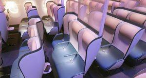 Corona virüsünü öldüren uçak koltukları geliştirdiler