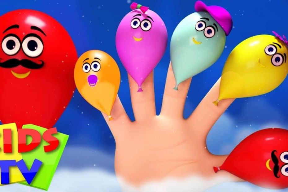 balloons finger family | 3d rhymes nursery | rhyme kids songs | baby videos | Kids Tv Nursery Rhymes