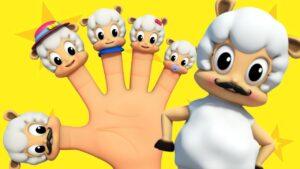 Sheep Finger Family | Nursery Rhymes Farmees | Kids Songs | Baby Videos by Farmees