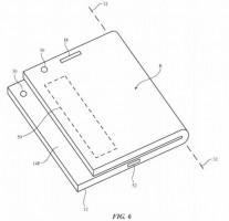 Daha önce Apple tarafından dosyalanmış katlanabilir cihaz patentleri