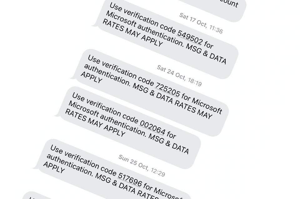 SMS MS MFS mesajları