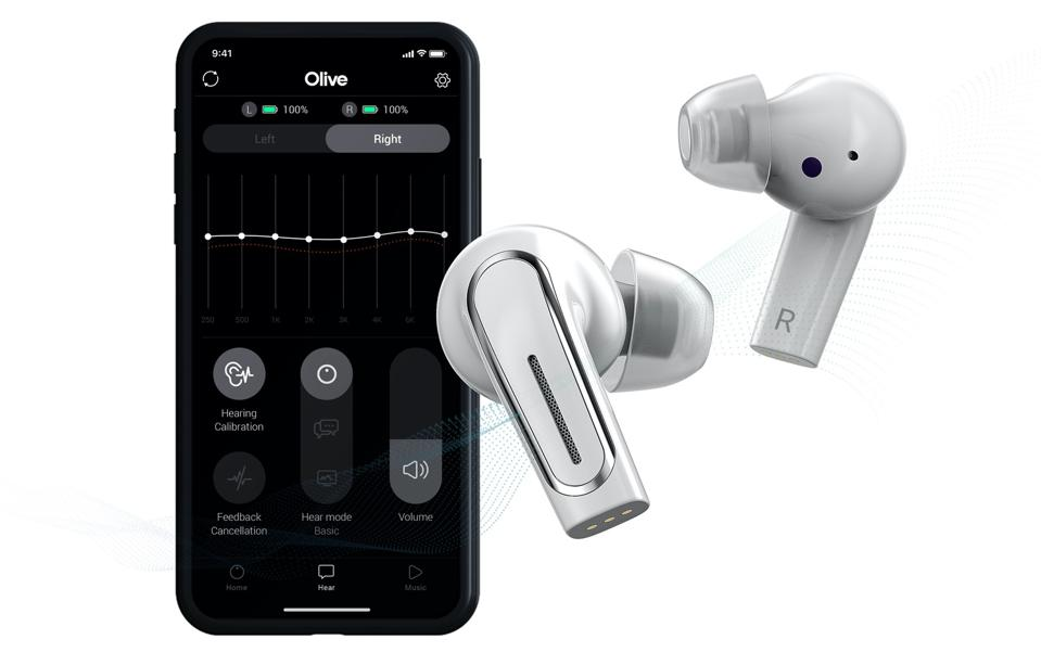 İPhone'u çalıştırma uygulaması ile Olive Pro