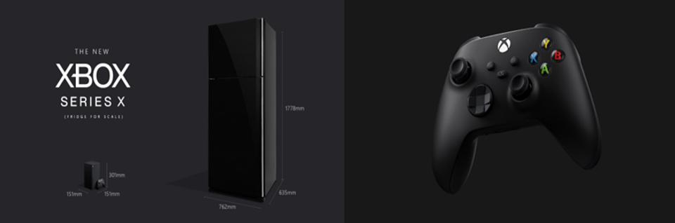 Xbox Series X Refridgerator & Controller