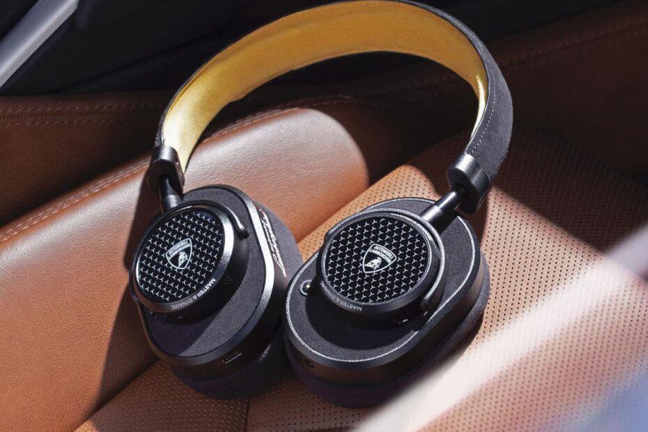 Master & Dynamic, bir dizi lüks kulaklık sunmak için Lamborghini ile işbirliği yapıyor