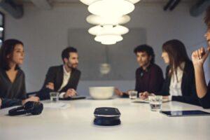 EPOS Expand 80 hoparlörü toplantınızı düzene sokacak