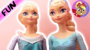 Karlar Ülkesi Frozen - Karlar Kraliçesi Elsa Oyuncak Bebek Tanıtımı