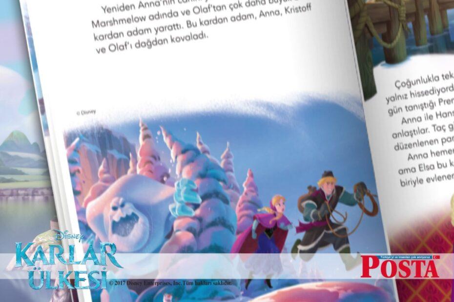 Karlar Ülkesi Sihirli Kar Öykü Kitabı Bugün Posta ile Ücretsiz