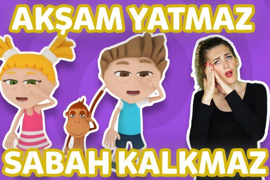 Kukuli – Akşam Yatmaz Sabah Kalkmaz | İşaret Dili ile Çocuk Şarkıları & Çizgi Filmler