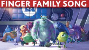 MONSTERS INC finger family song monsters inc daddy finger song