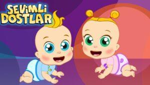 Önce emekle sonra yürü! (YENİ) | Sevimli Dostlar Bebek Şarkıları | Adisebaba TV Çocuk Şarkıları 2020