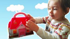 Barbie evi, Süpriz Hediye Oyuncak Ev Elif Nil Barbi evi