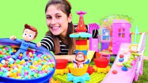 Disney Pijamaskeliler için oyun alanı kuruyoruz. Eğlenceli süper kahramanlar ile çocuk oyun videosu