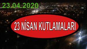 Kocaeli İzmit 23 nisan kutlaması 23.04.2020 #evdekal 23 April sovereignty and children's day TURKEY