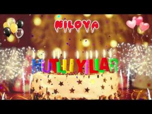 NİLOYA İyi ki doğdun - Niloya İsme Özel Doğum Günü Şarkısı