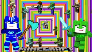 Pijamaskeliler Zombi Virüsüne Karşı Çizgi Film Eğlencesi Minecraft Oyunu