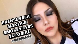 Prenses Ela Makyajı/ Smokey Eyes Tutorial