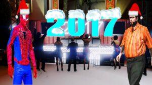 Şimşek McQueen ve Örümcek Adam Recep İvedik İle Yeni Yıl Kutlaması 2017 Örümcek Adam Mutlu Yıllar.