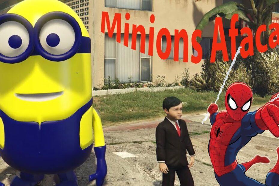 Şimşek Mcqueen Örümcek Adam, Afacan Çocuk Minions inanılmaz macer, Afacan Çocuk Şarkısı