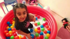 #Top havuzu videoları, #Tophavuzu, nda oynadı Beren # Çocuk videosu