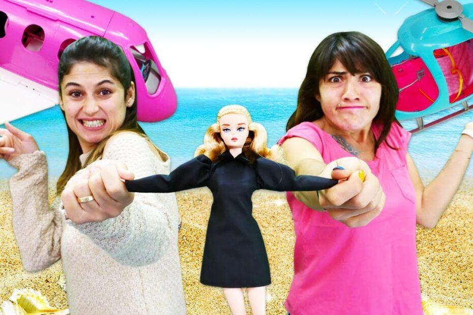 Kız oyunları. Barbie tatil planı yapıyor! Ayşe ve Ümit müşteri kazanma Challenge!