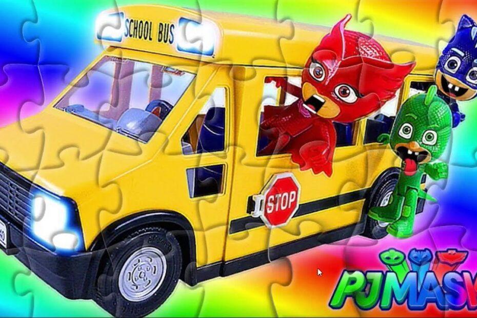 Pijamaskeliler Puzzle   Çocuklar için Yapboz   Yapboz Oyunu  