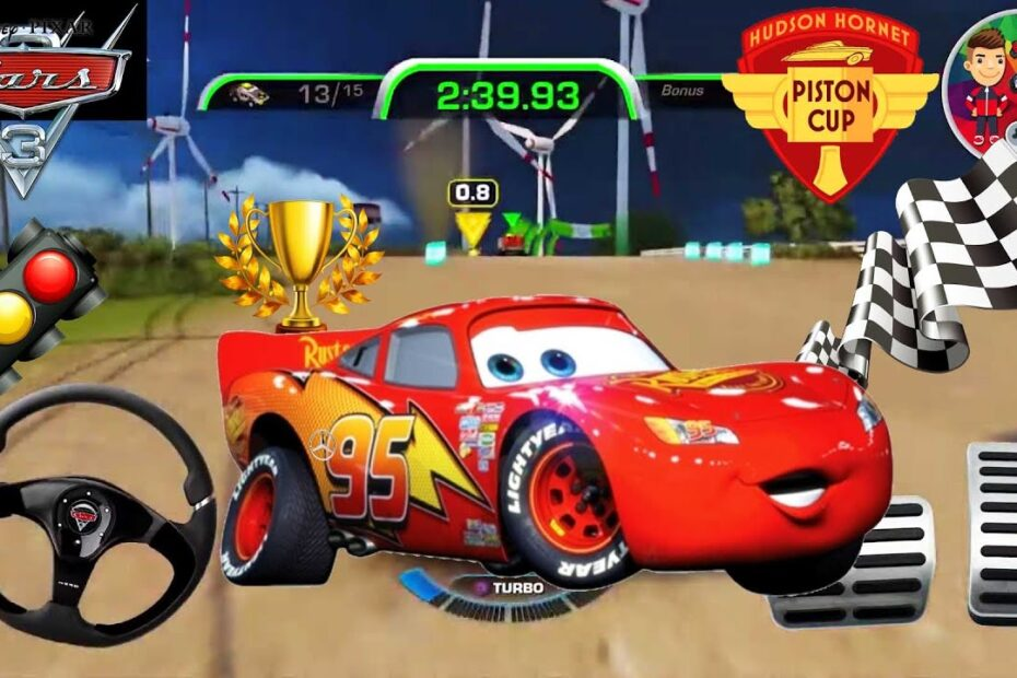 Şimşek McQueen Araba Oyunu Cars 3| Cars Toys | Heartland Countrysıde Dash Color Games