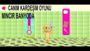 TRT Çocuk Oyunları, Canım Kardeşim Oyunu, Mıncır Banyoda, Oyun Videoları 2021, Android Mobil