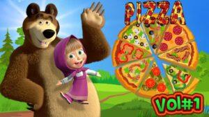 Maşa İle Koca Ayı'nın Pizza Dükkanı - Kurtlar Acıktı Pizza Bekliyor