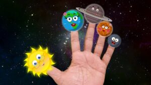 Planets finger family | the planet song | solar system song | science songs for kids | kids music