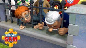 Sıkışmak! | İtfaiyeci Sam Resmi | Çocuklar İçin Çizgi Filmler