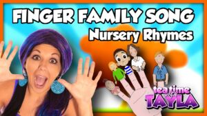 The Finger Family | Nursery Rhymes ~ Tea Time with Tayla!