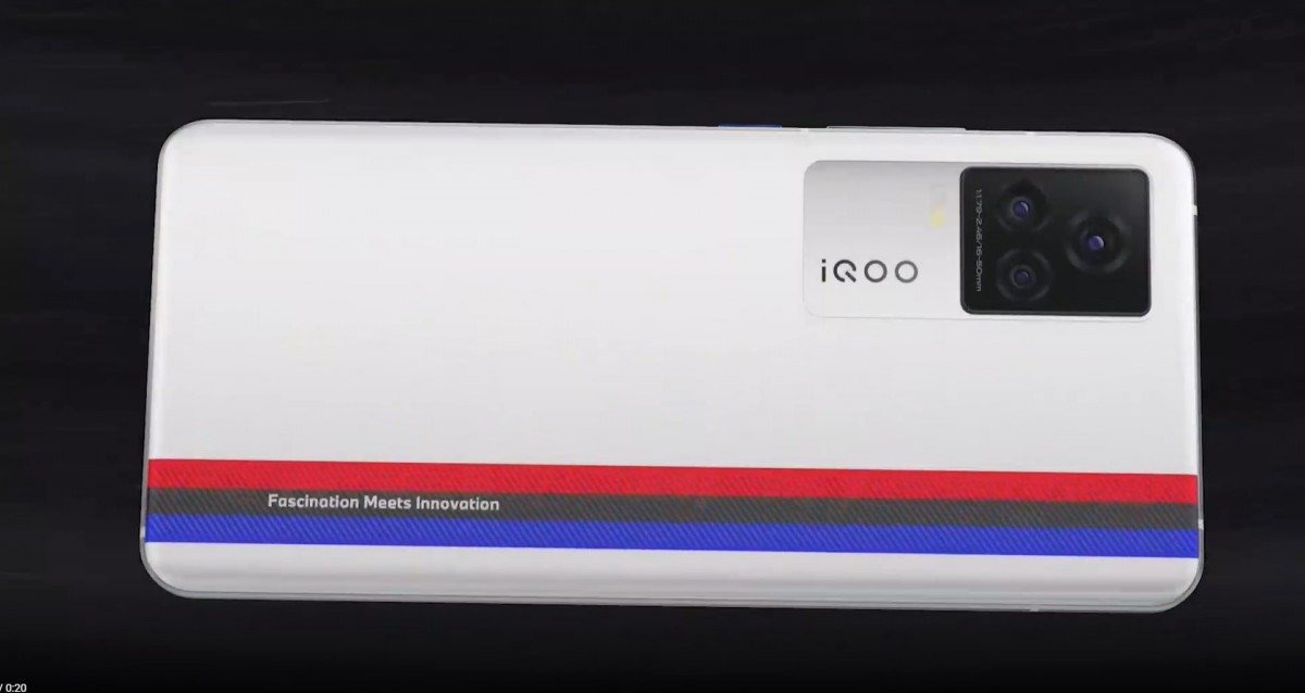 BMW M markalı IQOO 7 Serisi