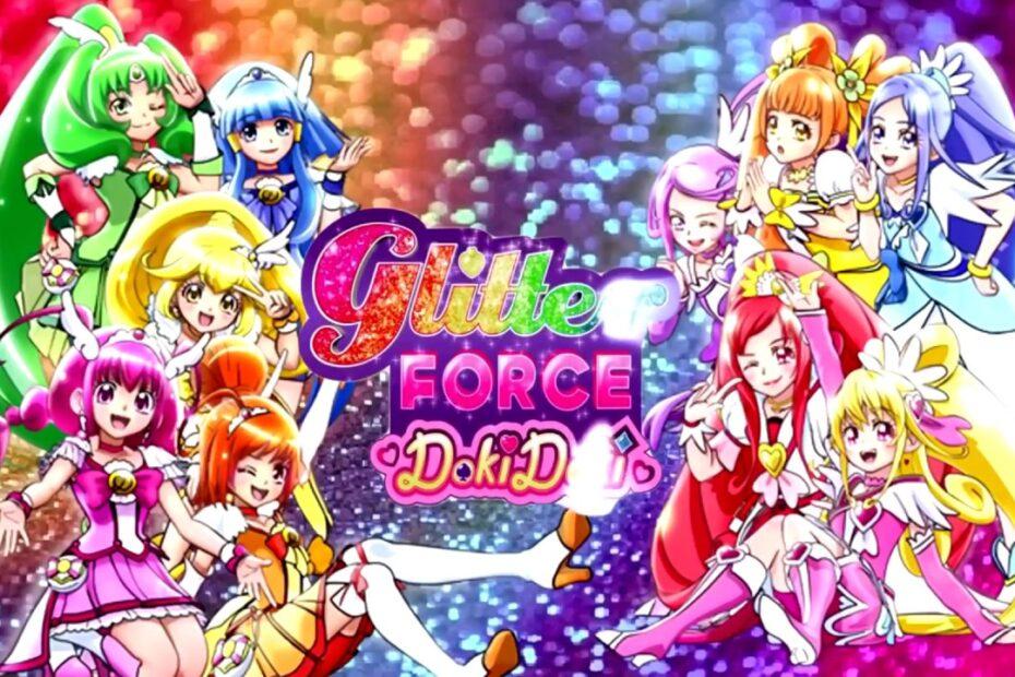 "AMV ""Glitter Force Team Up Medley OP NC 720P"" Mashup"