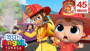 Can Bebek Trafik Şarkısı, Önce Güvenlik   En Eğlenceli Çocuk Şarkıları   Little Angel Türkçe