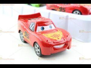 Şimşek mcqueen mekkuin metal çek bırak oyuncak arabalar promosyon seti