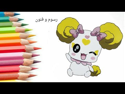 رسم كاندي من انمي قوة غليتر   How to draw( Candy  ) Glitter force