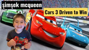 Cars 3 Driven to Win şimşek mcqueen