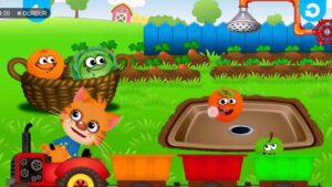 Eğitici Çocuk Videosu  Gelin Birlikte Renkleri - Sebze ve Meyveleri ÖğrenelimColors