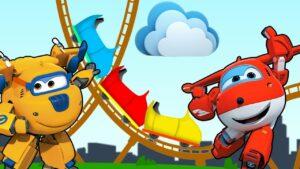 Harika Kanatlar Çizgi Film Karakterleri ile Lunaparkta Renkleri Öğreniyorum