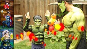 Hulk Finger - finger family collection - 7 finger family songs - Kids Rhyme with Hulk