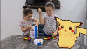 İpliğe Dizme Oyunu ile Şekil ve Renkleri Öğreniyorum ¦ Eğitici Çocuk Videoları ¦ Eğlenceli Oyunlar