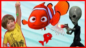 KIRMIZI BALIK VE EVDE UZAYLI VAR ❗ Eğitici Bebek Şarkıları Dinle | Çoçuk Videoları İzle |  Play Kids