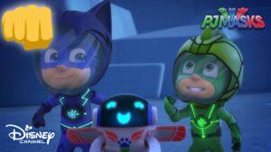 Mega Mıknatıs😮😲   Pijamaskeliler   Disney Channel Türkiye