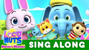Sing Along - Baby Finger, Mommy Finger, & Daddy Finger, The Finger Family Song | Nursery Rhymes
