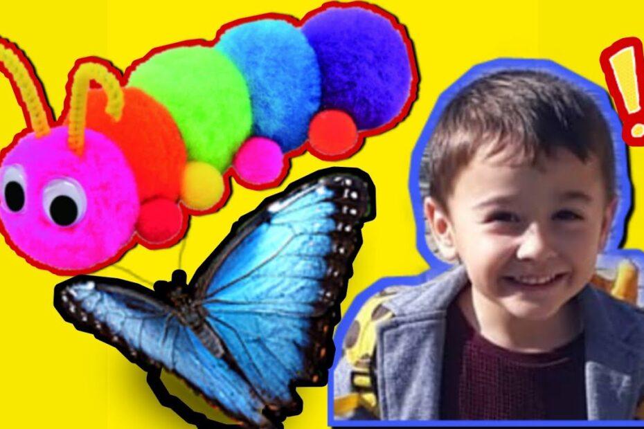 Tırtıl Tren Oyun Alanı | Çocuklar için Tırtıl Tren | Tırtıl Tren Videoları | Eğitici Çocuk Videosu 🐛