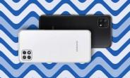 Samsung Galaxy A22 5G, 90Hz 1080p olduğunu söylüyor