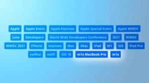 Apple, WWDC 2021'de M1X MacBook Pro'yu içeriyor