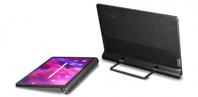 Lenovo Yoga Tab 11 (solda) ve Yoga Tab 13 (sağda)